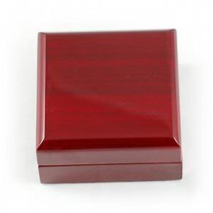 厂家直销 供应 单戒盒 漆木首饰盒  礼品包装盒 每月特价