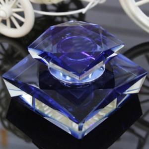 K9水晶香水座创意水晶天山切面高档内饰用品批发高档汽车用品
