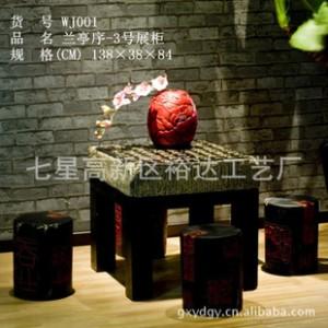 仿古树脂工艺品实木家具  客厅创意
