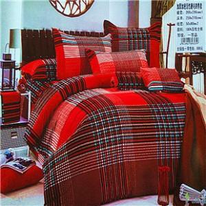 保暖磨毛四件套全棉加厚床品四件套纯棉情侣婚庆被套床上用品