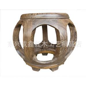 红木工艺品  红木家具 实木家具 老挝红酸枝鼓凳 鸡翅木鼓凳