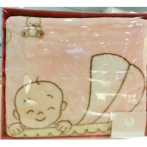 英氏正品 男女婴儿床品 宝宝绒毛毯礼盒 134016  男女宝宝毛毯
