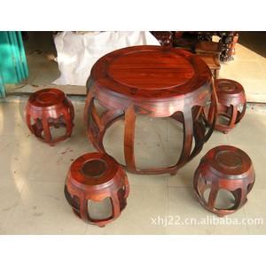 红木家具/古典家具/红酸枝鼓台