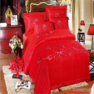 厂家批发高档欧式家纺正品提加绣花婚庆床上用品全棉四件套特价