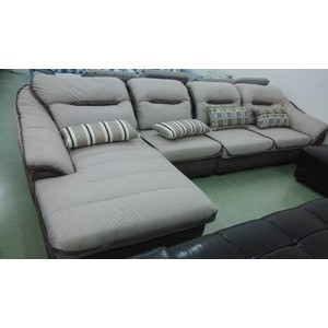 沙发  厂家直销家庭布艺沙发 简约现代沙发