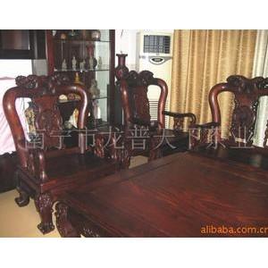 供应越南红木家具、红酸枝中富贵家具