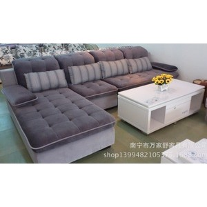 沙发 厂家直销 L型转角布艺沙发 现代沙发