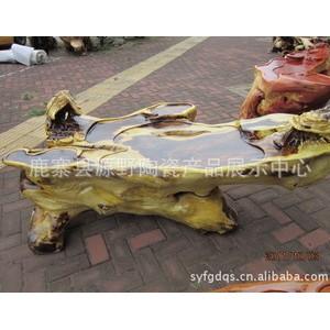 广西源野批发供应鸡翅木根雕艺术茶