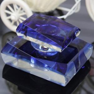 K9水晶香水座创意水晶四面网切面高档内饰用品批发高档汽车用品