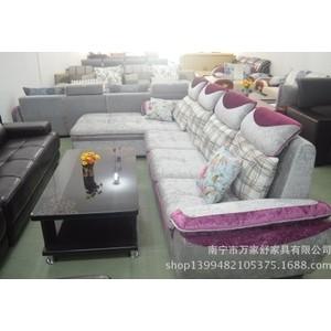 沙发 L型转角布艺沙发 休闲沙发