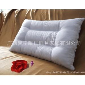 长寿之乡纯种巴马火麻长寿保健颈椎枕头 儿童定型pp棉枕芯 批发