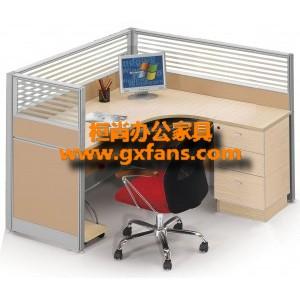[免费设计、上门测量】南宁屏风办公桌,办公家具厂