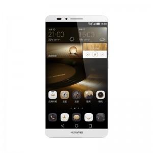 华为 HUAWEI Ascend Mate7 标配版 双卡双待双通 移动4G智能手机 TDD-LTE/TD-SCDMA/GSM(月光银)