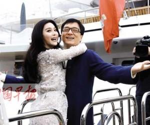 成龙范冰冰广西拍摄《绝地逃亡》 影迷曝拍摄细节