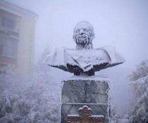 世界上最冷的有人居住城市,没有之一