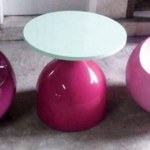 供应室内外用(创意)玻璃钢桌椅