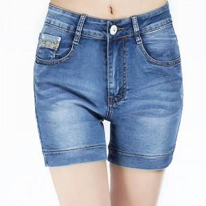 经典修身直筒女装夏季弹力热卖短裤