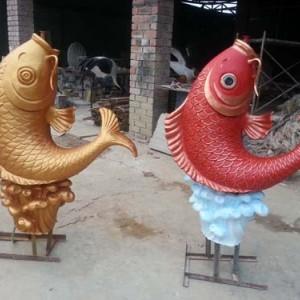 南宁谦瑞厂家制作玻璃钢雕塑工艺品