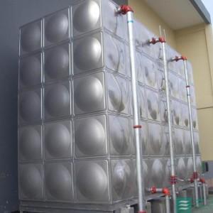 专业供应桂林市100立方不锈钢水箱