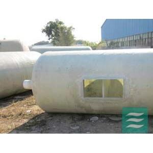 专业供应玉林市12立方玻璃钢化粪池