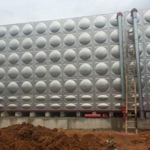 专业供应钦州市50立方不锈钢水箱