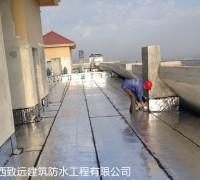 广西屋面防水施工现场图片
