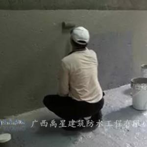 广西防水-JS聚合物防水涂料冬季施工注意事项