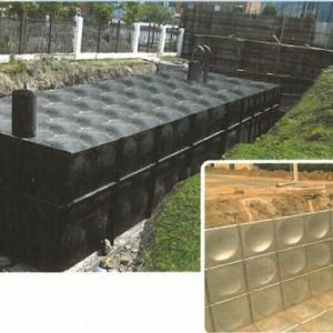 江苏盐城雅洁可定制各种不锈钢水箱、地埋式水箱