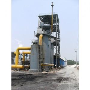 双段煤气发生炉下煤温度高怎么办