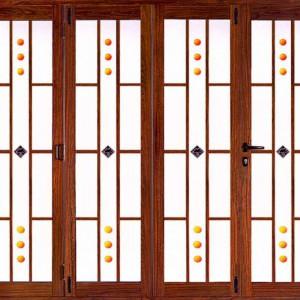 优质铝合金重型大折叠门 广东建材装饰行业信赖品牌