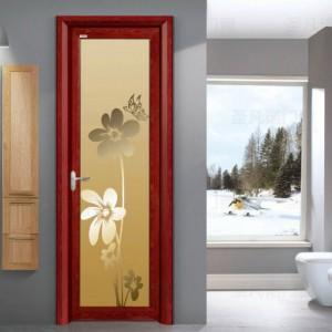 优质铝合金平开门 室内门 建材装饰首选铝合金门