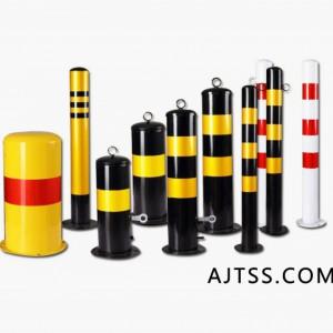 警示柱,铁立柱,防撞柱,道口标柱,固定路障,警示路桩,