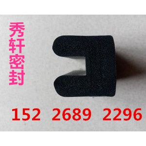 供应耐高温U型收尘器硅胶密封条