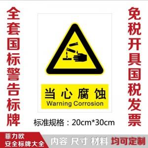 菲力欧安全标志图片大全消防安全标志标识牌环境安全标志标识